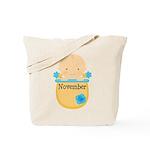 November Baby Tote Bag