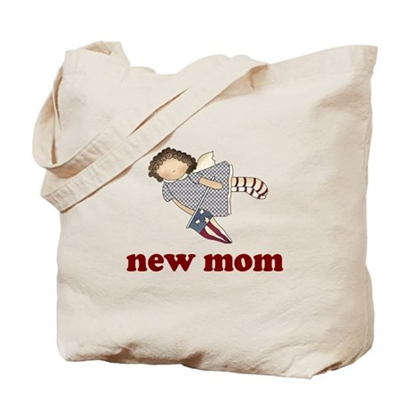 New Mom Angel Tote Bag