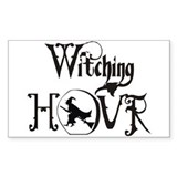 Witching Hour Rectangle Decal