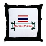 Thai Sawadee... Throw Pillow