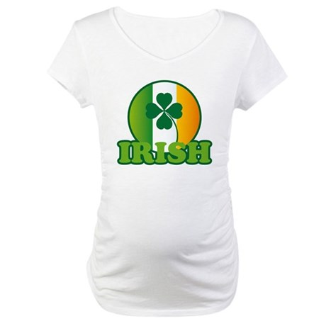 Irish St. Patrick's Day Maternity T-Shirt