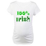 100 Percent Irish Maternity T-Shirt