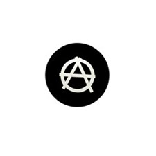 Package of 100 Anarchy Mini Buttons