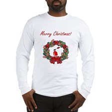 Manicurist Christmas Long Sleeve T-Shirt