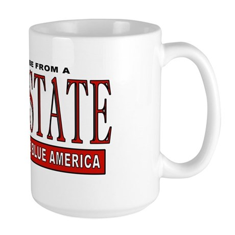 Bush State (Red State) Large Mug