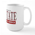Bush State (Red State) Large Mug