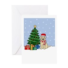 Yellow Lab Season's Greeting Card
