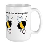 i'd rather bee beading Mug