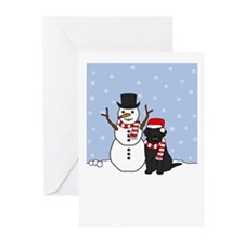 Black Lab Holiday Greeting Cards (Pk of 10)
