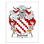 Salviati Family Crest Small Poster