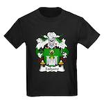Salgado Family Crest Kids Dark T-Shirt