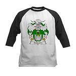 Salgado Family Crest Kids Baseball Jersey
