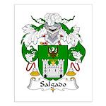 Salgado Family Crest Small Poster