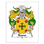 Romo Family Crest Small Poster