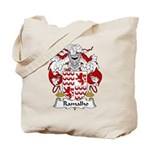 Ramalho Family Crest  Tote Bag