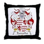Ramalho Family Crest  Throw Pillow