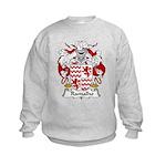 Ramalho Family Crest  Kids Sweatshirt