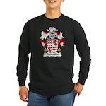 Ramalho Family Crest Long Sleeve Dark T-Shirt
