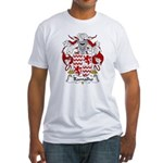 Ramalho Family Crest  Fitted T-Shirt