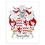 Ramalho Family Crest  Small Poster
