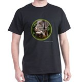 Chocolate Lab Art T-Shirt