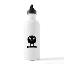#baaaaaa Black Sheep Water Bottle