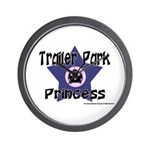 Trailer Park Princess Wall Clock