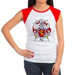 Pita Family Crest Women's Cap Sleeve T-Shirt