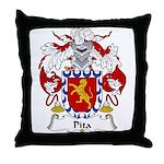Pita Family Crest Throw Pillow