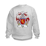 Pita Family Crest Kids Sweatshirt