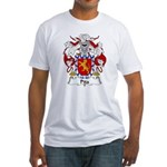 Pita Family Crest Fitted T-Shirt