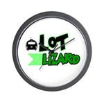 Lot Lizard Tshirts and Gifts Wall Clock