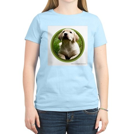 Yellow Lab Puppy Women's Light T-Shirt