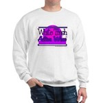 White Trash Active Wear Sweatshirt