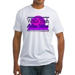 White Trash Active Wear Fitted T-Shirt