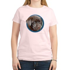 Chocolate Lab Puppy Women's Light T-Shirt