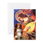 Angel3 - Aussie Shep #4 Greeting Cards (Pk of 20)