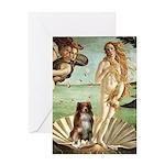 Venus-AussieShep#4 Greeting Card