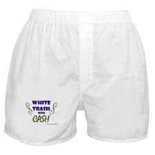 White Trash With Cash Boxer Shorts