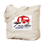 Trailer Red Streamline Tote Bag