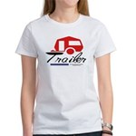 Trailer Red Streamline Women's T-Shirt