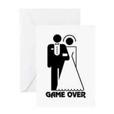 Bachelorette Party Game Over Greeting Card