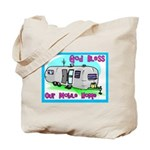 God Bless Our Mobile Home 200 Tote Bag