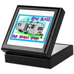 God Bless Our Mobile Home 200 Keepsake Box