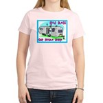 God Bless Our Mobile Home 200 Women's Pink T-Shirt