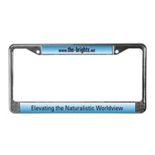Cute Free thinker License Plate Frame