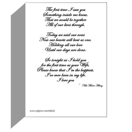Wedding Gift For Husband Forum : For my Husband on our Wedding Day Greeting Card by nikiclix