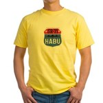 SR-71 Blackbird HABU Yellow T-Shirt
