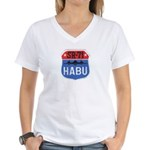 SR-71 Blackbird HABU Women's V-Neck T-Shirt