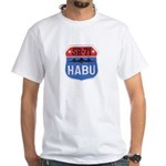 SR-71 Blackbird HABU White T-Shirt